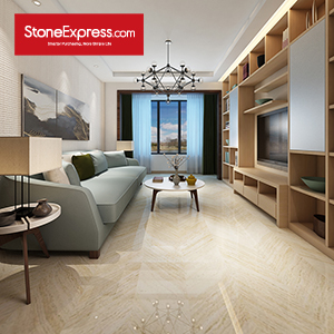Stone Fishbone Chevron Tiles ZP-09
