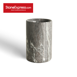 Royal Grey Marble Vase Decorative Items BZBK-MHZJ-D0812