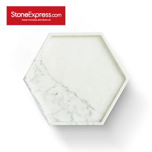 Statuario White Marble Tray GPD-KLLB-303003