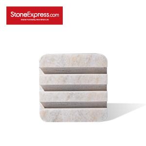 River White Business Card Marble Shelf WJ-BCB-006S