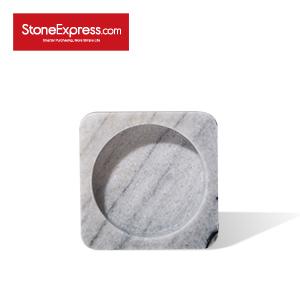River White Stationery Marble Tray  WJ-BCB-003S