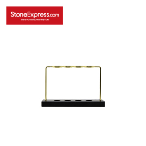 Home Decor Black Marble Storage Rack -ZWJ-001