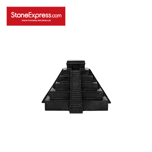 Home Decor Tower Building-Black Marble-TX-001