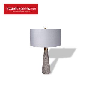Grey Marble  Table Lamp TD-HS-H55D38