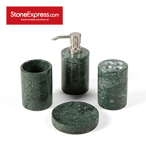 Dark Green Marble Bathroom Sets Four WYZ-YDL-001