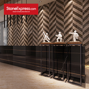 Marble Fishbone Chevron Tiles ZP-1313