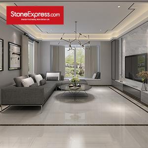 Dolomite White Marble Floor Tiles ZB-21