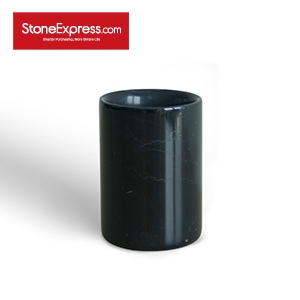 Black Marquino Marble  Vase BZBK-MY-D0812