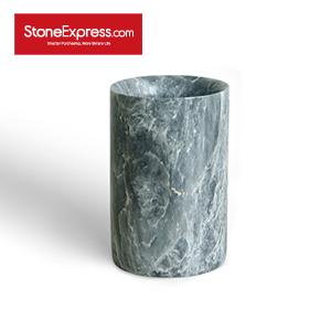 Laurent ash Marble Flower Vase BZBK-SLLH-D0812
