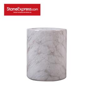 Calacatta Oro Marble Vase BZBK-YBH-D0810