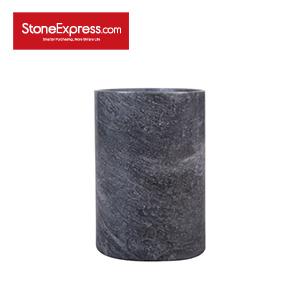 Gray Marble Vase BZBK-YDLBH-D0812