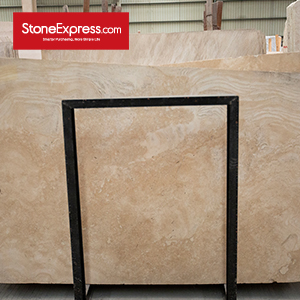 Super White Travertine 1 (Cross Cut)