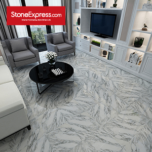 Arabescato White Marble Tiles  ZB-54