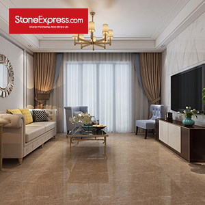 Chinese Emperador Composite Marble Tile ZB-59