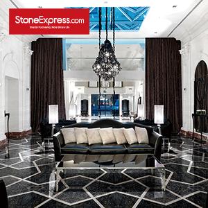 Grey & White Marble Floor Tile MF-32-66