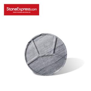 River White Marble Grid Tableware  CJ-BCB-009L