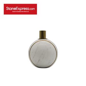 Ariston White Spherical Candleholder-ZT-009