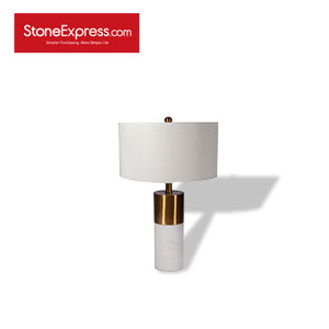 Volakas White Marble Lamp 25 TD-JS25-H67D38