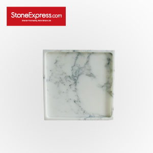 Statuario White Marble  Bathroom Tray GPF-XHB-2525