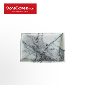Ice Lilac Marble  Bathroom Tray GPF-XXM-302003
