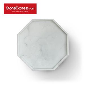 Carrara White Marble Tray GPB-KLLB-282803