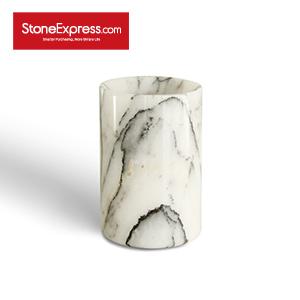 Ice Lilac Marble Flower Vase BZBK-XXM-D0810