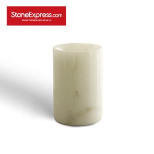 Calacatta Oro Marble Vase BZBK-YDB-D0812