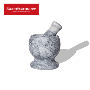 Carrara Grey Marble Garlic Crusher DSQ-GXBPH-D11H11