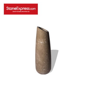 Babylon Grey Marble Vase DHP-BBLH-001-M