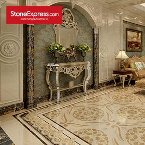 Marble Luxury Unique Design Big Border Tile DX27