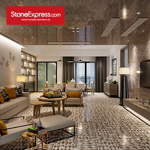 White & Grey & Brown Marble Modern Design Patterns BM11
