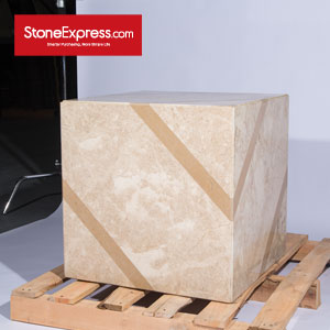 Marble Waterjet Design Patterns Cubes for Display MFHZ-66