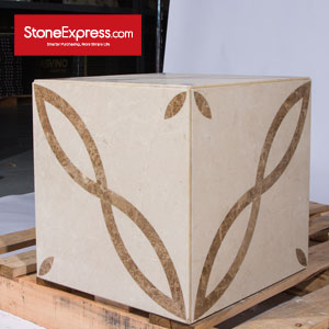 Marble Waterjet Design Patterns Cubes for Display MFHZ-44-43