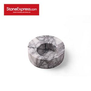Round Marble Flowerpot for Succulent Plants HP-XXM-005S