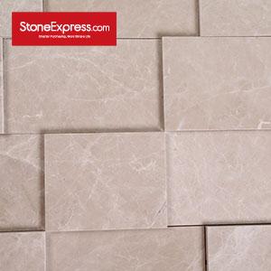 Mocha  Beige Marble 3D Decorative Wall Tiles CZ3D-307