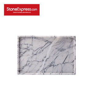 Carrara white Square tray BP-KLLB-001S