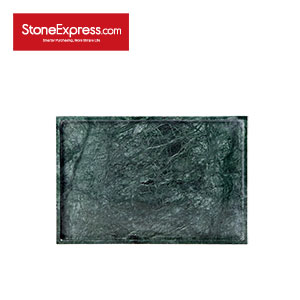 India Dark Green Square tray BP-DHL-001S