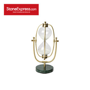 Dark Green Marble Stone Sand clock SL-001