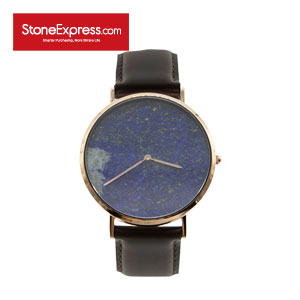 Roayl Blue Quartzite Marble Luxury Watch KSB-QJ-1002