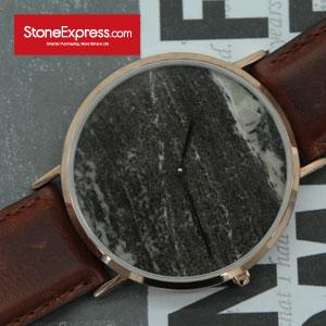 Royal Grey Quartzite Marble Luxury Watch KSB-SC-1002