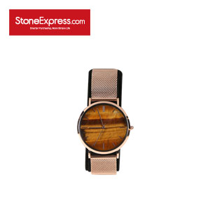 Tiger Eye Marble Luxury Watch UQ-HY-001