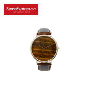 Tiger Eye Quartzite Marble Luxury Watch KSB-HY-1002