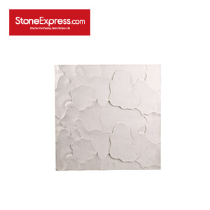 White Limestone CNC Engraving 3D Marble Wall Features BW-105